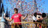 Mahomes cumple su sueño de ir a Disney como MVP del Super Bowl