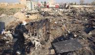 Ucrania reclama justicia por avión que derribó Irán