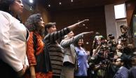Rinden protesta nuevas titulares del SAT y Oficial Mayor de Hacienda
