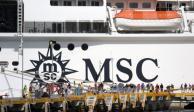 """SCT reitera: cruceros pueden desembarcar en México """"por razones humanitarias"""""""