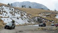 Rescatan a ocho ciclistas extraviados en el Nevado de Toluca