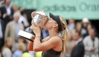 Sharapova se retira con 5 Grand Slams