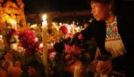 Entre el misticismo y respeto, la Noche de Muertos en Michoacán