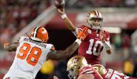 San Francisco siguen invicto tras derrotar a Mayfield y Browns