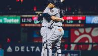 Astros por fin aparece en la Serie Mundial; vence 4-1 a Nationals