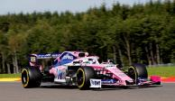 Sergio Pérez arrancará séptimo en el Gran Premio de Bélgica