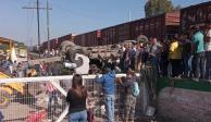 Camión, tren, Querétaro
