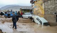 Reportan 76 muertos por inundaciones en Irán