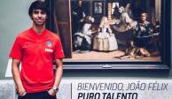 Atlético de Madrid hace oficial la llegada de Joao Félix