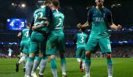 ¡Partidazo! Tottenham avanzó a las semis por gol de visitante ante el City