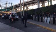 Por amago de bloqueo, más de mil policías resguardan AICM