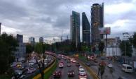 Nublados y lluvias fuertes, pronóstico para este sábado en Valle de México