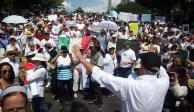 Convocan colectivos a marcha de protesta el 1 de septiembre