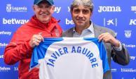 """Leganés presenta al """"Vasco"""" Aguirre como su nuevo DT"""
