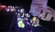Taekwondoínes de Jalisco sufren accidente en carretera