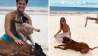 Diego Boneta y Mayte Rodríguez se pasean por las playas de Tulum