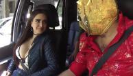 VIDEO: Celia Lora acepta reto del Escorpión Dorado y se quita el sostén
