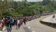 Caravana migrante no recibe trato cordial a diferencia del año pasado