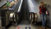 Línea 7 delmetro habilitará escaleras el viernes