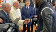 Boxeador Deontay Wilder se reúne con el Papa Francisco