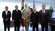 México y EU intercambian información sobre tráfico ilícito de armas