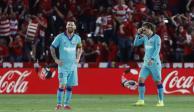 Barcelona sufre segunda caída en LaLiga tras perder ante Granada