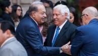 """Carlos Slim: """"Denle tiempo a AMLO, nada más lleva 100 días"""""""