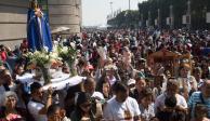 En 3 días, 10.6 millones de peregrinos han visitado la Basílica: Sheinbaum
