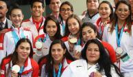 VIDEO: Reconocen a medallistas panamericanos en el Senado
