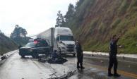 Mueren 2 jornaleros en carambola en la autopista Siglo XXI