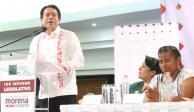 Morena apoya a AMLO en su lucha por un país más justo: Mario Delgado