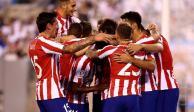 Con Héctor Herrera, el Atleti golea 7-3 al Real Madrid