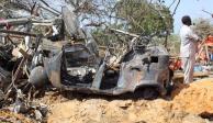 Suman 100 muertos en Somalia por atentado con coche bomba