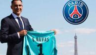 Oficial: Keylor Navas es el nuevo portero del PSG
