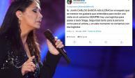 """Ana Gabriel dice """"no"""" a encuentro en camerinos con fan desahuciada"""