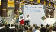 Gobierno de Tamaulipas inaugura segunda planta de producción de palas eólicas