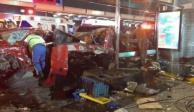 Accidente automovilístico en Tlalpan deja dos muertos y un par de lesionados