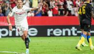 CH14, más efectivo que el delantero titular del Sevilla