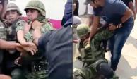 Actitud de soldados en La Huacana, digna y valiente, señala AMLO