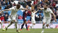 Con doblete de Karim Benzema, Real Madrid supera 2-1 al Eibar