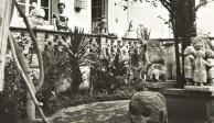A subasta, 78 fotos inéditas de Frida Kahlo y Diego Rivera