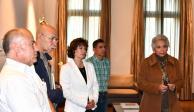 Sánchez Cordero recibe a familia de Israel Vallarta, expareja de Cassez