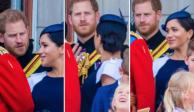 VIDEO: Príncipe Harry regaña a Meghan en pleno evento público