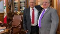 Se reúnen AMLO y embajador de México en el Vaticano