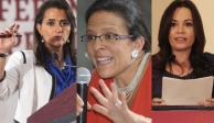 Agendan comparecencias de candidatas a ministra para el 4 de diciembre