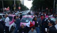 Taxistas llegan a acuerdos y cancelan bloqueos anunciados para mañana