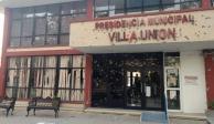 Tras ataque, restauran presidencia municipal de Villa Unión