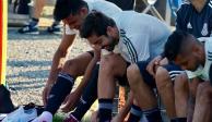 La selección mexicana de futbol entrena con plantel completo