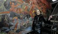 Muere la muralista Rina Lazo a los 96 años de edad