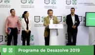 En mayo concluyen obras de desazolve, anuncia GCDMX